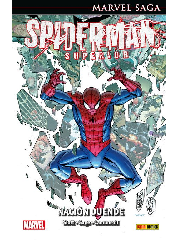 Marvel Saga spiderman 44