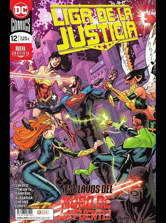 SEGUNDA MANO: Liga de la justicia 90/12