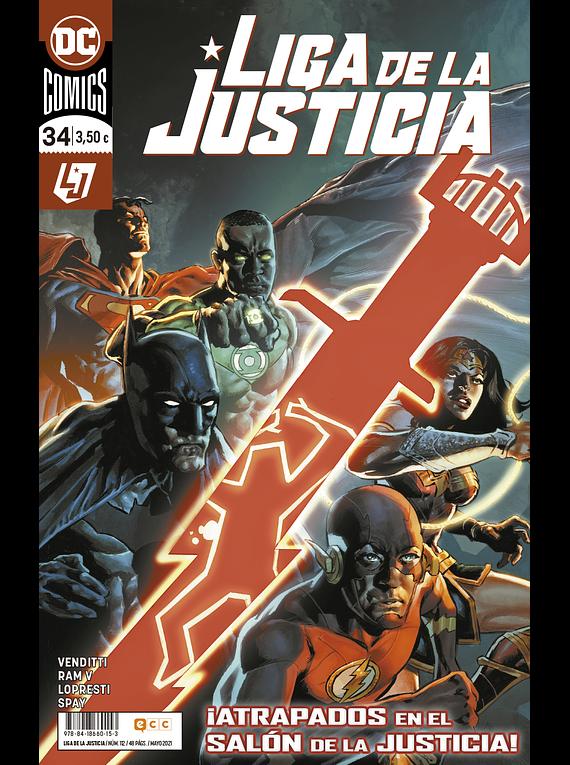 Liga de la justicia núm. 112/34
