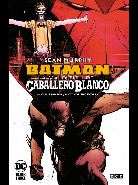 ECC - Batman: La maldición del caballero blanco - Cartone