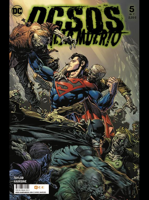 DCsos: Planeta Muerto núm. 5 de 7