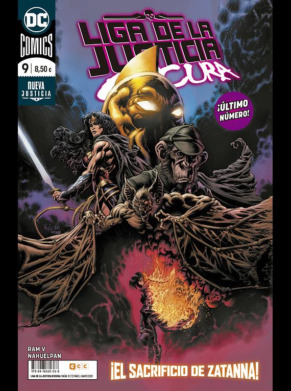 Liga de la justicia Oscura vol. 2, núm. 9 de 9
