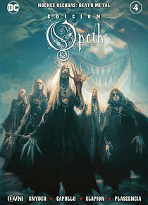 OVNIPRESS - BATMAN Noches Oscuras: DEATH METAL #4 (Opeth)