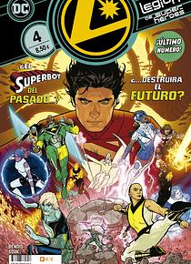 Legión de Superhéroes núm. 4 de 4