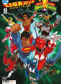 Liga de la Justicia/Power Rangers núm. 02 (de 6)