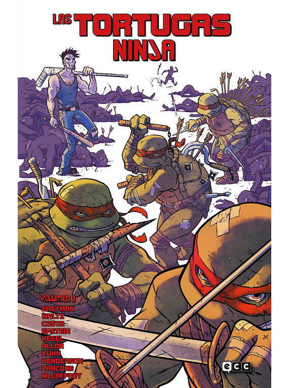Las Tortugas Ninja vol. 03