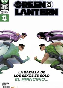 El Green Lantern núm. 107/ 25