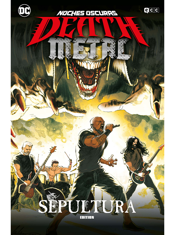 Noches oscuras: Death Metal núm. 05 (Sepultura Band Edition) (Rústica)
