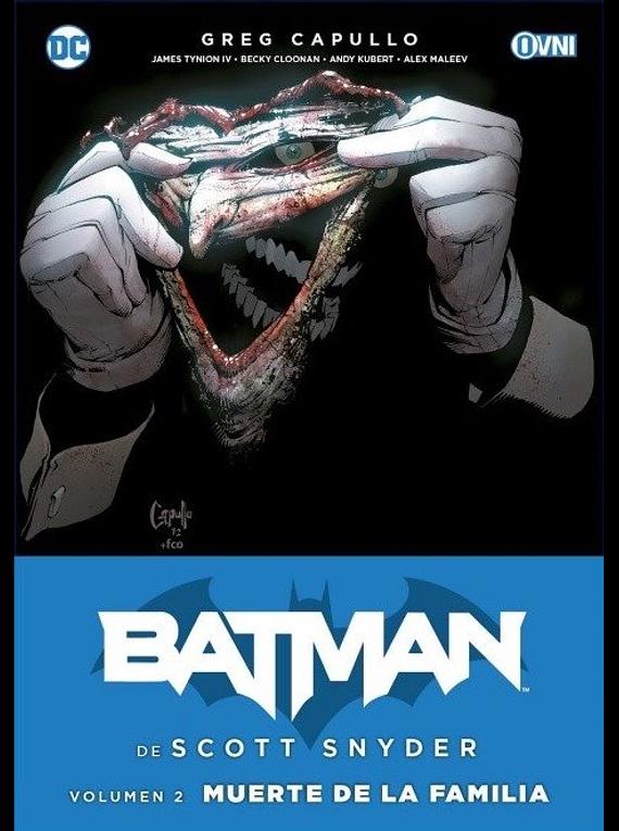 OVNIPRESS - ESPECIALES - BATMAN DE SCOTT SNYDER VOL. 2: MUERTE DE LA FAMILIA