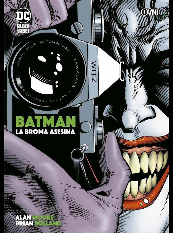 OVNIPRESS - BLACK LABEL - BATMAN: La broma asesina (reimpresión)