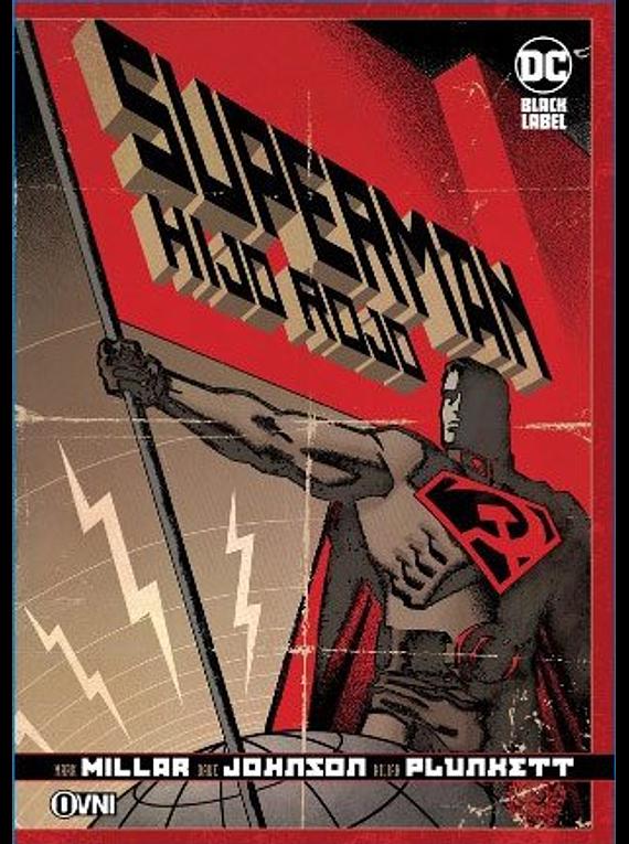OVNIPRESS - BLACK LABEL - SUPERMAN: HIJO ROJO