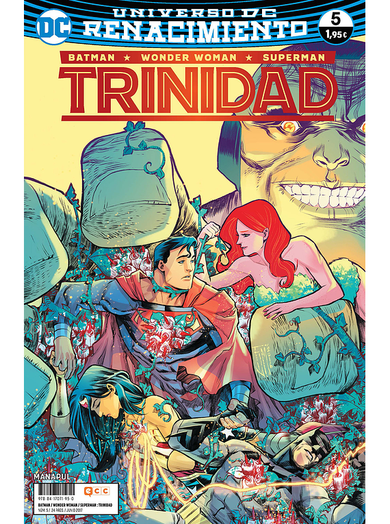 Batman/Wonder Woman/Superman: Trinidad núm. 05 (Renacimiento)