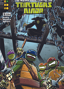 Las nuevas aventuras de las Tortugas Ninja núm. 08