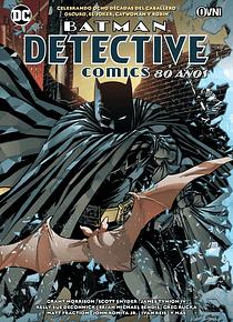 SEGUNDA MANO OVNIPRESS - BATMAN - DETECTIVE COMICS: 80 AÑOS