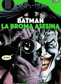 SEGUNDA MANO BLACK LABEL - BATMAN: La broma asesina OVNIPRESS