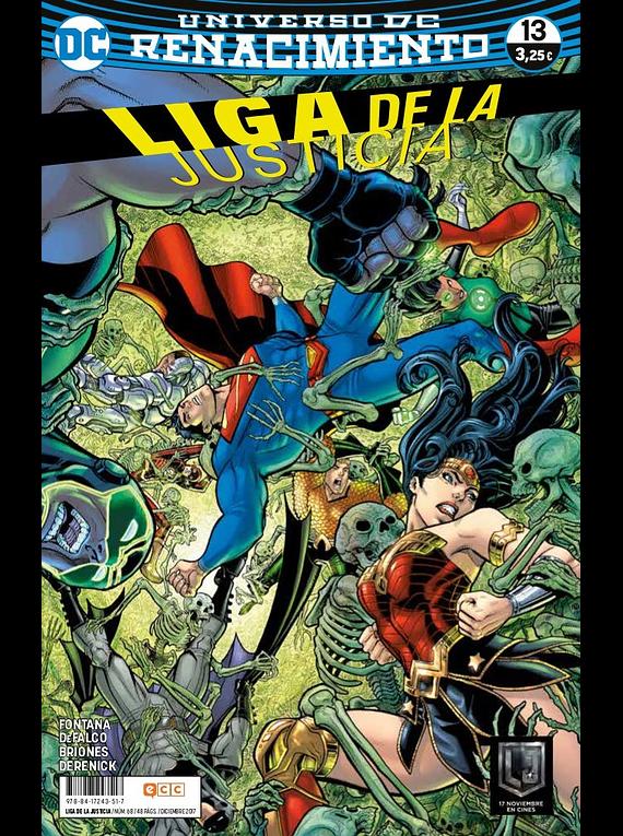 Liga de la Justicia núm. 68/13