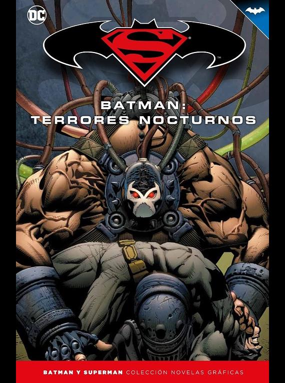 Batman y Superman - Colección Novelas Gráficas número 22: Batman: Terrores nocturnos