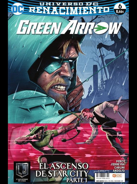 Green Arrow vol. 2, núm. 06 (Renacimiento)