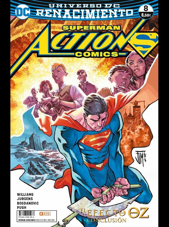 Superman: Action Comics núm. 08 (Renacimiento)