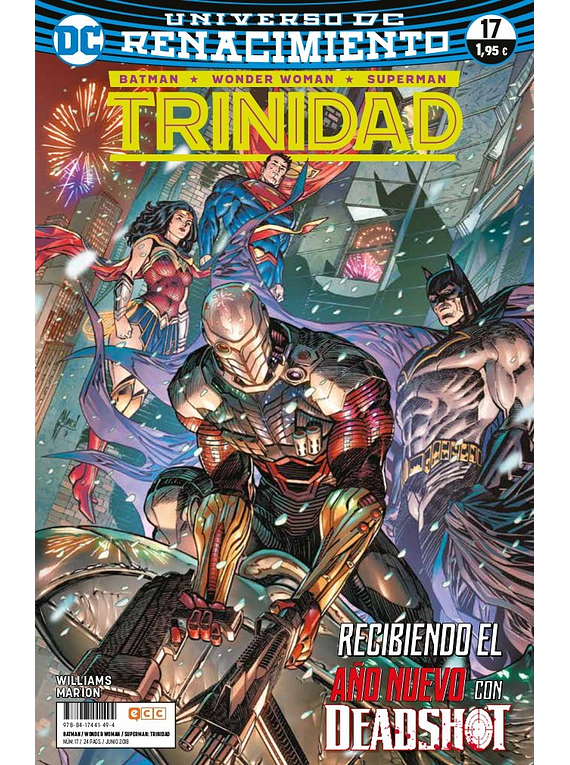 Batman / Superman / Wonder woman: Trinidad (Renacimiento) 17
