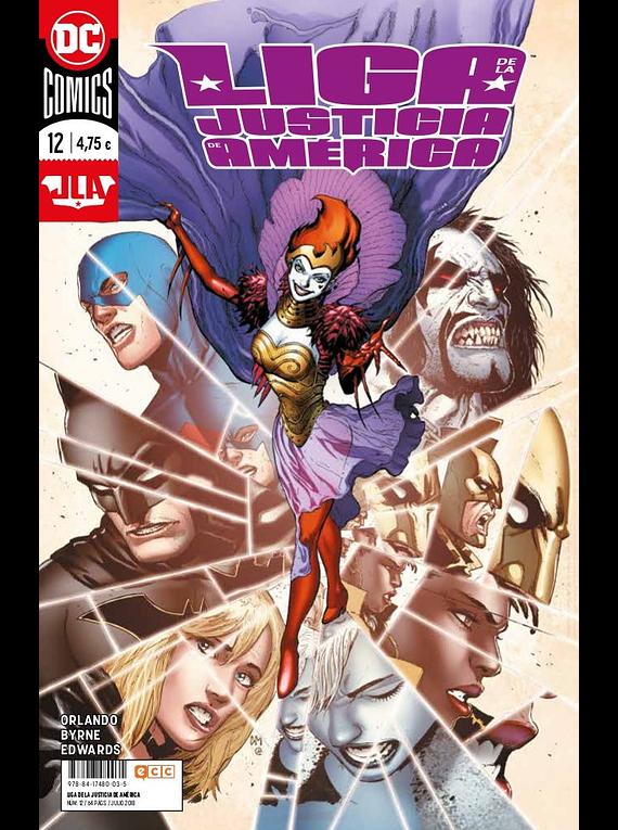 Liga de la Justicia de América (Steve Orlando) núm. 12