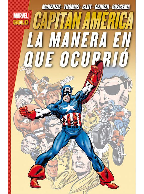 CAPITÁN AMÉRICA.LA MANERA EN.. CLASICO MARVEL