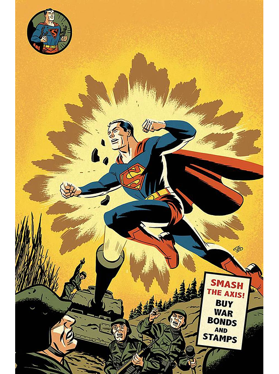 Action Comics Vol 2 #1000 Cover C Variant Michael Cho 1940s Cover (english)