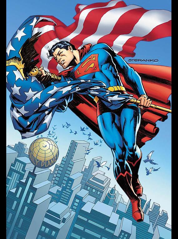 Action Comics Vol 2 #1000 Cover F Variant Jim Steranko 1970s Cover (english)