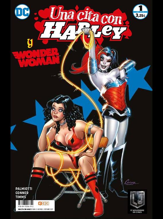 Una cita con Harley núm. 01 ( de 6): Wonder Woman