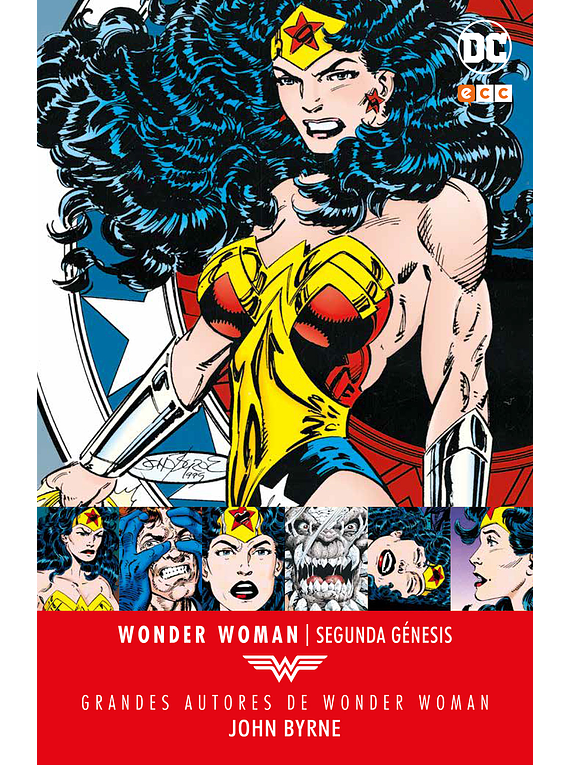Grandes Autores de Wonder Woman: John Byrne – Segunda Génesis