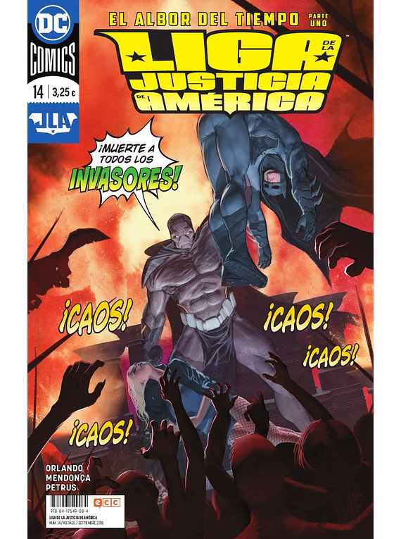Liga de la Justicia de América (Steve Orlando) núm. 14