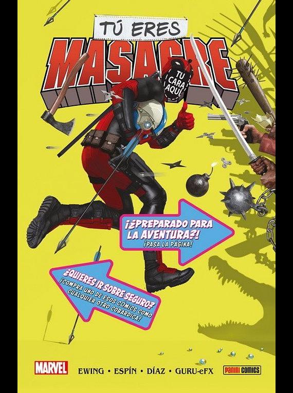 Tú eres Masacre. Edición especial