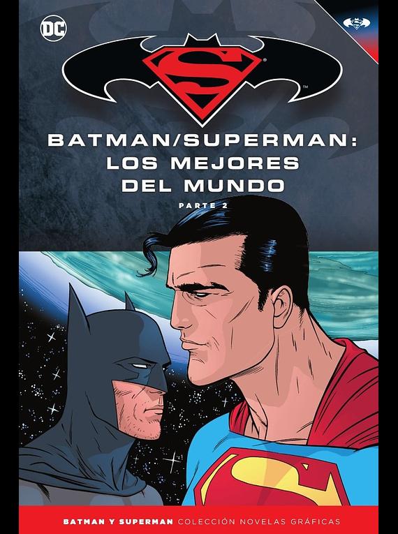 Batman y Superman - Colección Novelas Gráficas núm. 50: Batman/Superman: Los mejores del mundo (Parte 2)