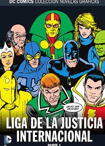 Colección Novelas Gráficas núm. 76: Liga de la Justicia Internacional Parte 1