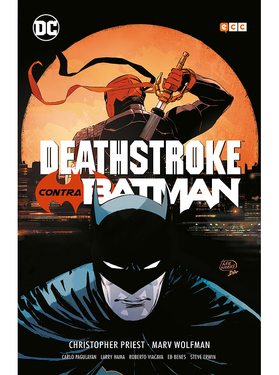 Deathstroke contra Batman