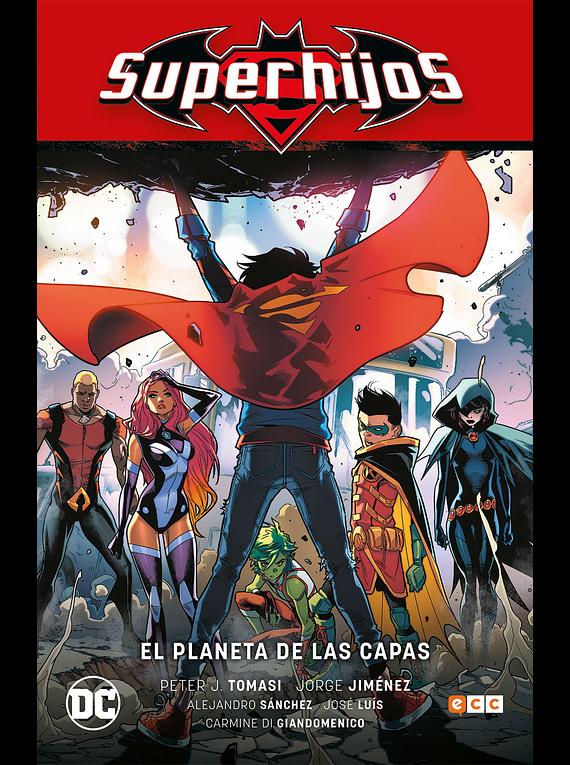 Superhijos vol. 02: El planeta de las capas