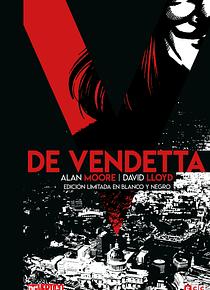V de Vendetta (blanco y negro)