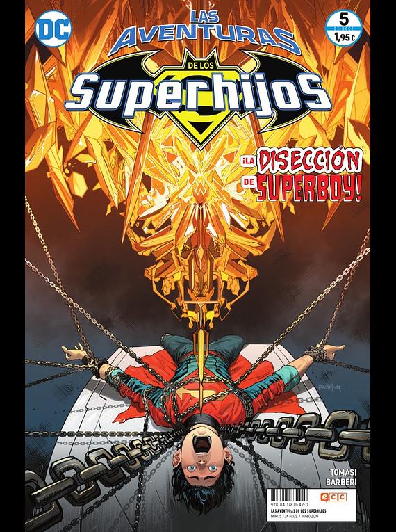 Las aventuras de los Superhijos núm. 05
