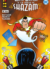 Billy Batson y la magia de ¡Shazam! núm. 05