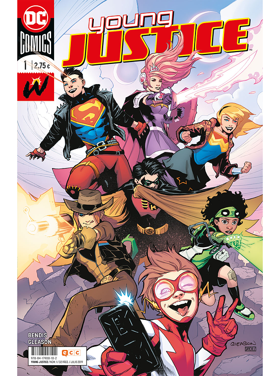 Young Justice núm. 01