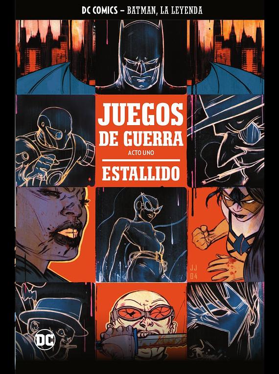 Batman, la leyenda núm. 14: Juegos de guerra (Parte 1)