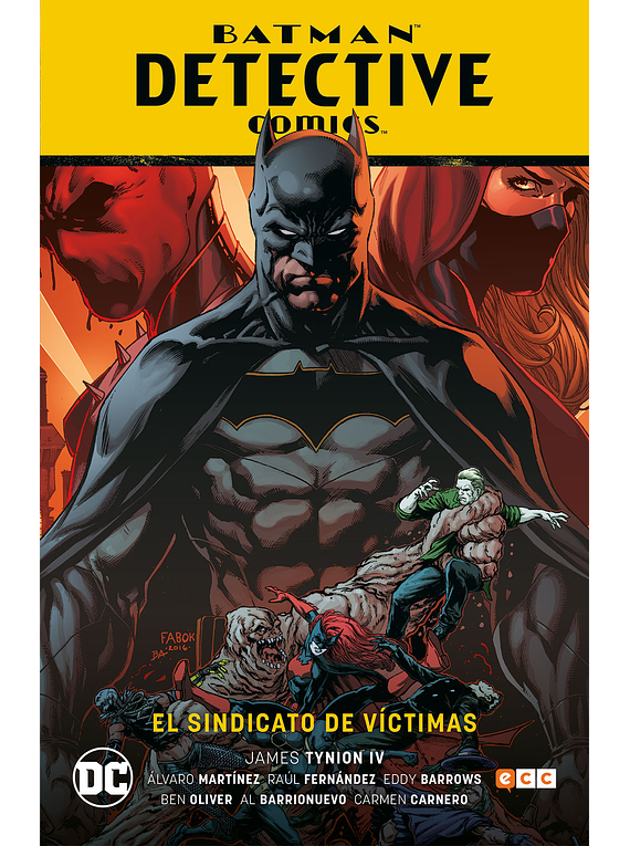 Batman: Detective Comics Vol. 2: El sindicato de víctimas (Rebirth)
