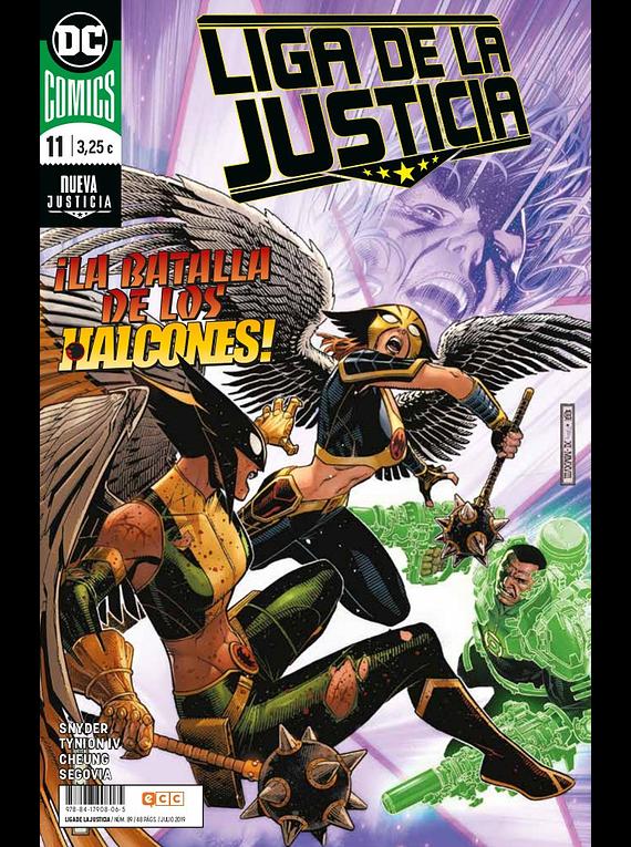 Liga de la justicia núm. 89/11