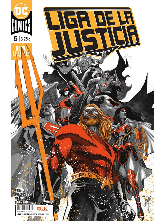 Liga de la Justicia núm. 83/5