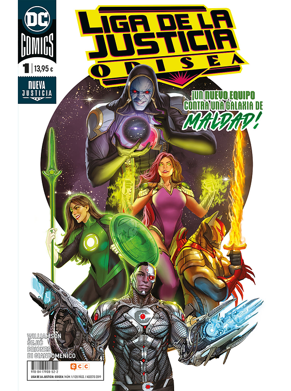 Liga de la justicia: Odisea 1