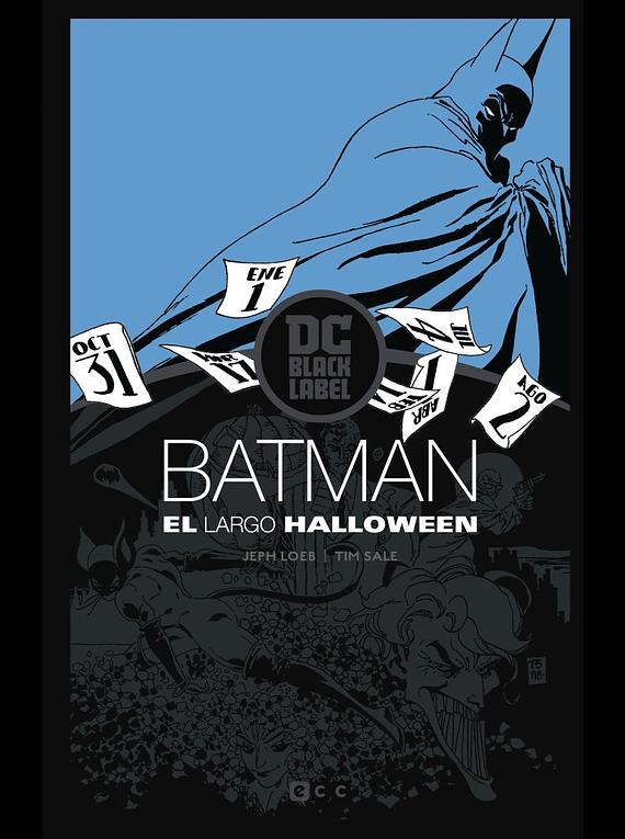 SEGUNDA MANO: Batman: El largo Halloween – Edición DC Black Label