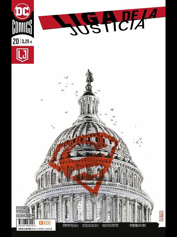 SEGUNDA MANO: Liga de la Justicia núm. 75/20
