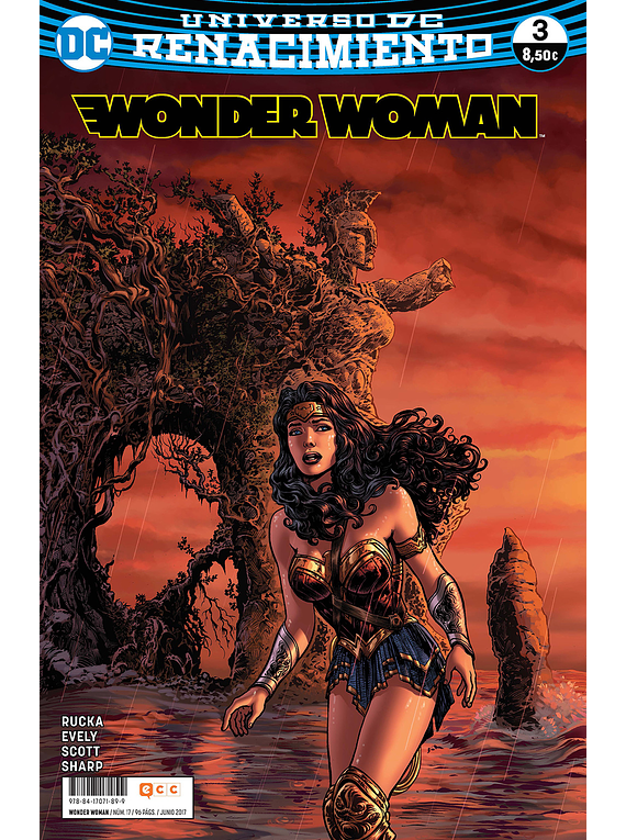SEGUNDA MANO: Wonder Woman núm. 17/3