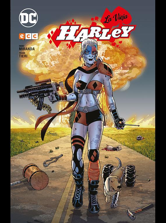 La vieja Harley