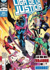 Liga de la justicia núm. 92/14